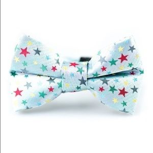 Littlest Prince Couture Twinkle Star Print Bowtie